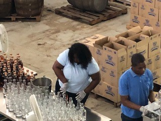 Capping rum
